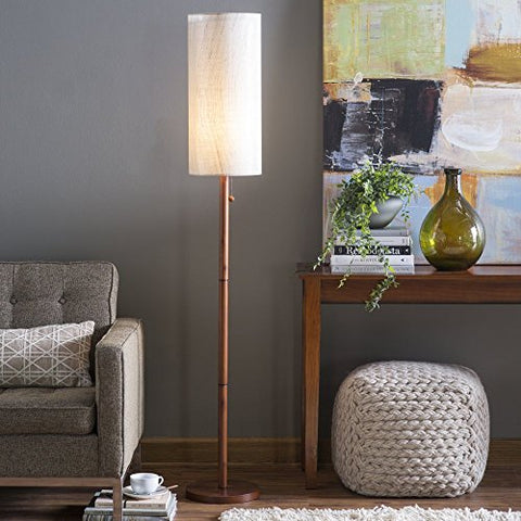 Adesso Hamptons Floor Lamp - llightsdaddy - Adesso - Lamp Shades