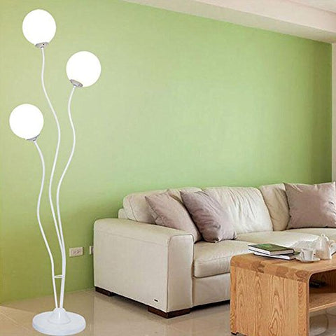 ALUS- Creative Floor Lamp Modern Minimalist Stylish Living Room Corner Bedroom Bedside Floor Lamp Iron Floor Lighting Vertical Lighting (Size : #1 White) - llightsdaddy - ALUS-floor lamp - Lamp Shades