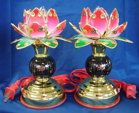 Buddha Lotus Light, Lotus Lamp for Buddha - 1 pc - llightsdaddy - Feng Shui Import - Lamp Shades
