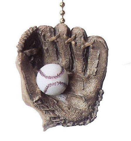 World Series Baseball Glove Ball Ceiling Fan & light Pull - llightsdaddy - Clementine Designs - Pull Chains