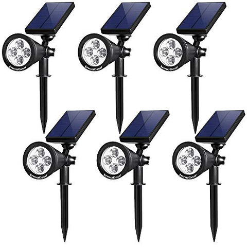 Solar Torch Lights Outdoor with Flickering Flames, OxyLED Solar-powered Garden Light Pathway Lighting for Garden LED Light Decor, Auto On/Off Torch Light for Patio Driveway Yard Path Lights (4 Pack) - llightsdaddy - OxyLED - Landscape Pathway Lighting