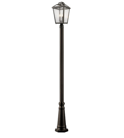 3 Light Outdoor Post Light 539PHBR-519P-ORB