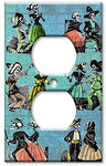 Outlet Cover Wall Plate - Los Muertos - llightsdaddy - Art Plates - Wall Plates