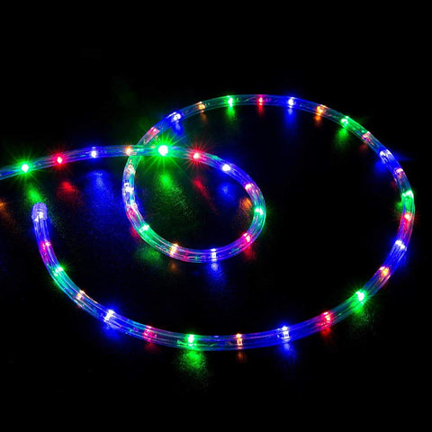 Wyzworks 150' Feet Multi-Rgb Led Rope Lights - Flexible 2 Wire ...