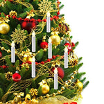 Sunsbell LED Candle Light, 10pcs RGB Tree LED Candle Light Key Remote Control with Detachable Clip for Birthday Christmas Wedding - Divine LEDs - llightsdaddy - SUNSBELL - Flameless Candles