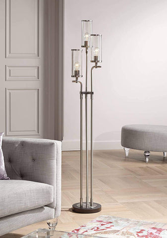 Possini Euro Design Revely 3-Light Floor Lamp - llightsdaddy - Possini Euro Design - Floor Lamps