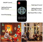 Christmas Projector Light With 16 Moving Patterns, Holiday Spotlight, Landscape Lamp