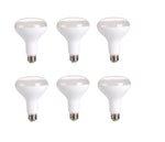 LED BR30, 2700K, 120, CRI80, UL, 10W, 65W EQUIVALENT, 25000HRS, LM800, DIMMABLE , INPUT VOLTAGE 120V 6 PACK - llightsdaddy - Elitco Lighting - LED Light Bulbs
