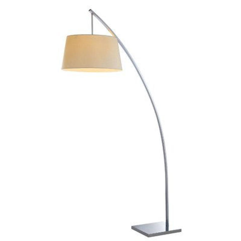 Bennett White 1 Light Floor Lamp - llightsdaddy - Bromi Design Inc - Lamp Shades