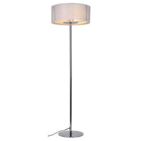 Lynch Iron Mesh White Floor Lamp - llightsdaddy - Bromi Design Inc - Lamp Shades