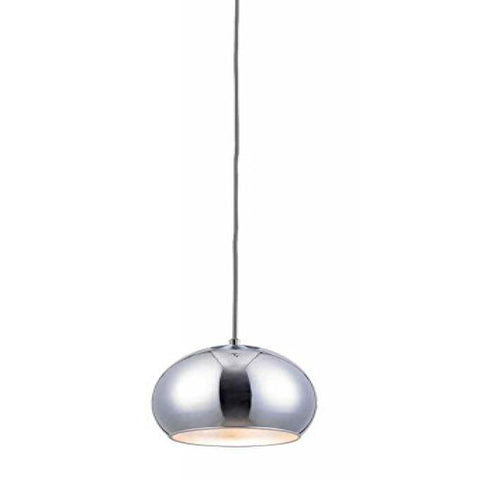 Wade Chrome Round Lighting Pendant - llightsdaddy - Bromi Design Inc - Ceiling Lights