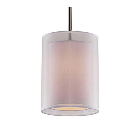 Phoenix White 1 Light Pendant - llightsdaddy - Bromi Design Inc - Ceiling Lights