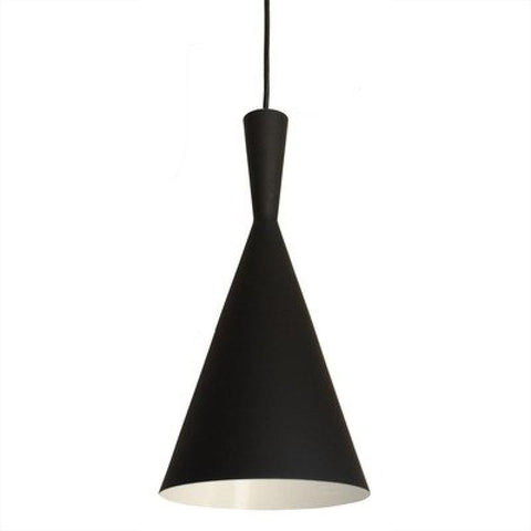 Berkley Black Single Light Pendant B6003 - llightsdaddy - Bromi Design Inc - Pendant Lights