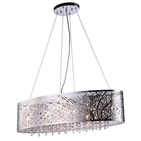 Royal 9 Light Linear Pendant - llightsdaddy - Bromi Design Inc - Pendant Lights