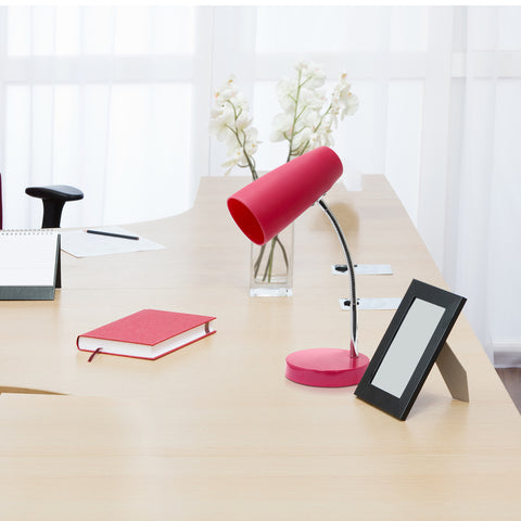 LimeLights Flexible Silicone Desk Lamp, Pink - llightsdaddy - LimeLights - Lamp Shades