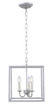 Eclipse 3 light Vintage Sliver pendant - llightsdaddy - Living District - Pendant Lights