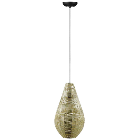 "20"" Hand-Crafted Drop Style Sparkle Pendant - Gold - llightsdaddy - WalkerEdison Furniture - Pendant"