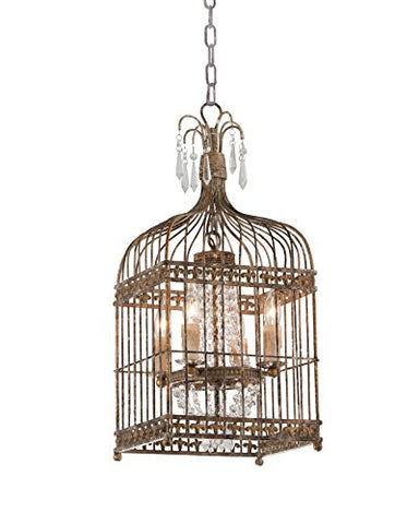 Metal Bird Cage Chandelier - llightsdaddy - TXUSA Corporation - Chandeliers