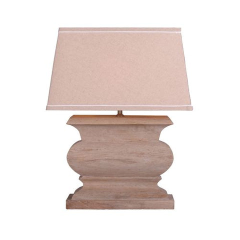 Wood rectangle table lamp - llightsdaddy - TXUSA Corporation - Table Lamp
