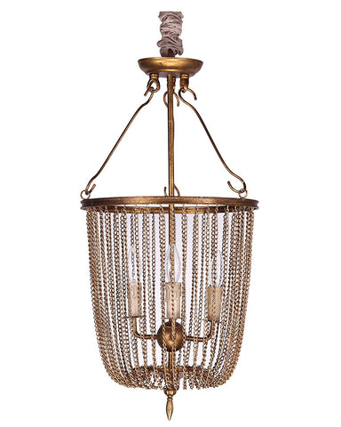 Metal chain collapsible chandelier - llightsdaddy - TXUSA Corporation - Chandeliers