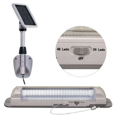 Gama Sonic Light My Shed III Solar LED Shed Light Fixture #GS-16LD - llightsdaddy - Gama Sonic - Ceiling Light Fixtures