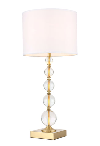 Erte 1 light Brass Table Lamp - llightsdaddy - Elegant Decor - Outdoor Floor Lamps