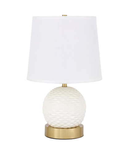 Haven 1 light Brass Table Lamp - llightsdaddy - Elegant Decor - Outdoor Floor Lamps