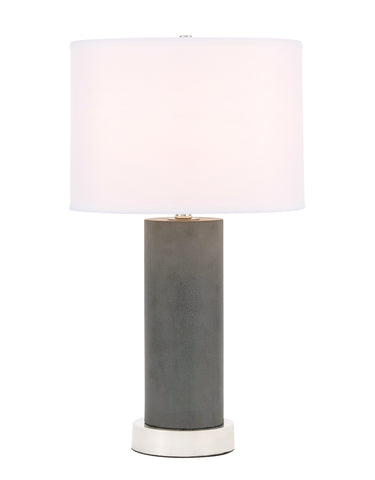 Chronicle 1 light Polished Nickel Table Lamp - llightsdaddy - Elegant Decor - Outdoor Floor Lamps