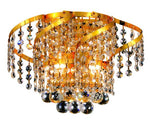 Belenus 2 light Gold Wall Sconce Clear Elegant Cut Crystal - llightsdaddy - Elegant Lighting - Wall Sconces and Lamps