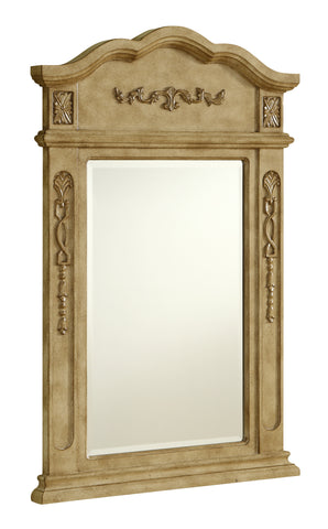 "Vanity Mirror 24"" x 36"" Antique Beige - llightsdaddy - Elegant Decor - Vanity Lights"