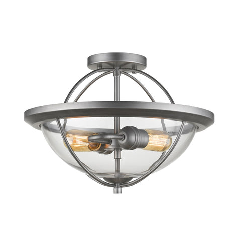 2 Light Semi Flush Mount 3000SF-OS - llightsdaddy - Z-Lite - Ceiling Lights