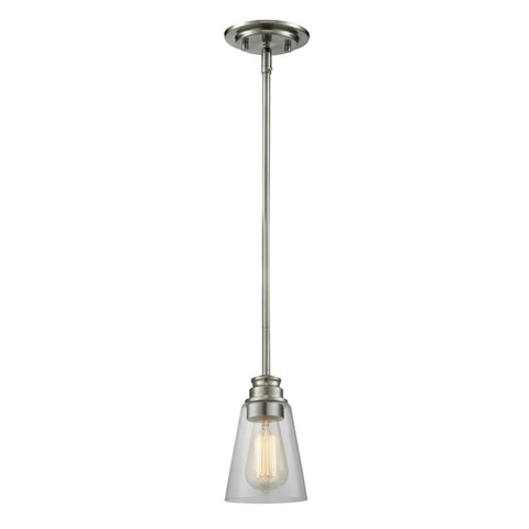 1 Light Mini Pendant 428MP-BN