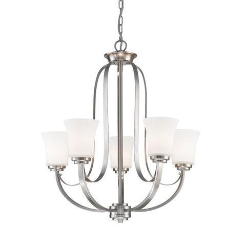5 Light Chandelier 7000-5BN