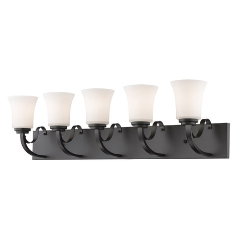 5 Light Vanity 7000-5V-BRZ - llightsdaddy - Z-Lite - Ceiling Lights
