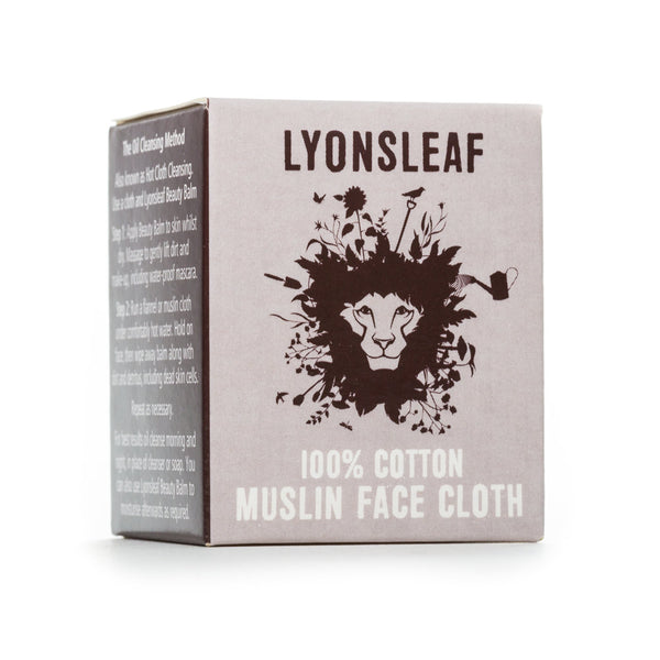 Lyonsleaf Two-ply Muslin Face Cloth