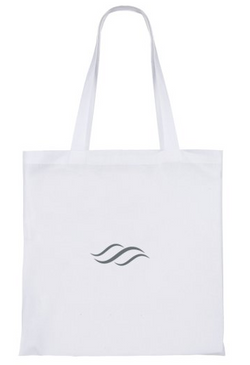 The Pure Planet totes bag (white)