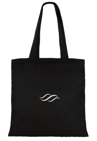 The Pure Planet Totes bag (black)