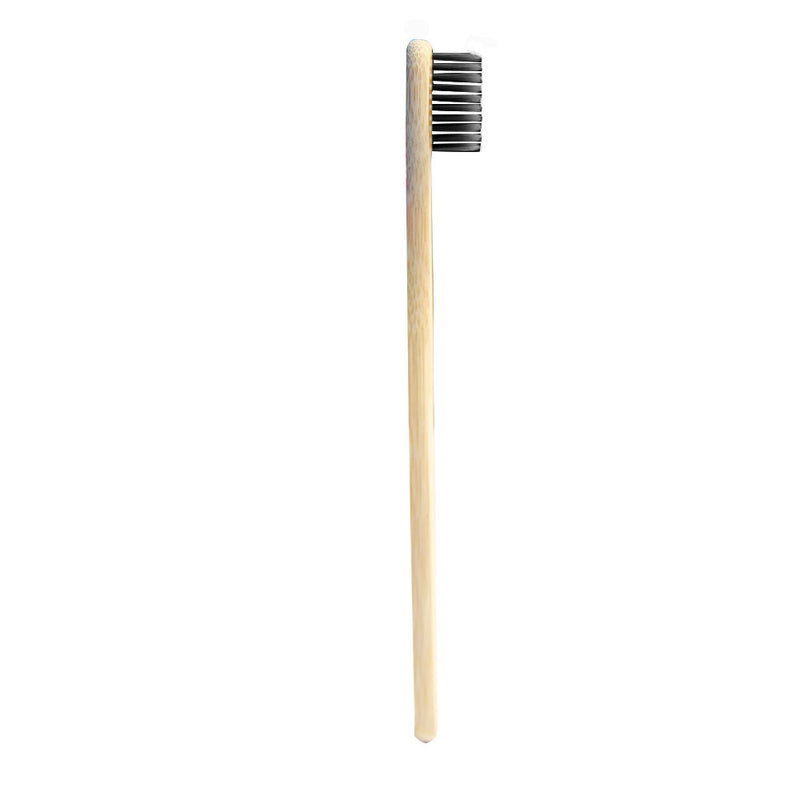 4x Bamboo Eco Soft Toothbrushes