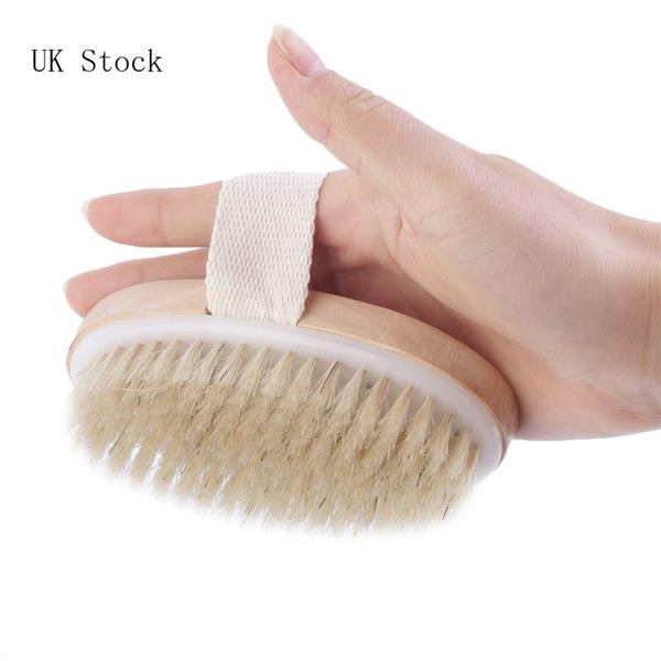 Wooden Bath/Shower bristle-brush