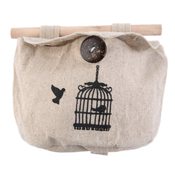 Fashion Home Wardrobe/Wall Hanging Cotton Bag