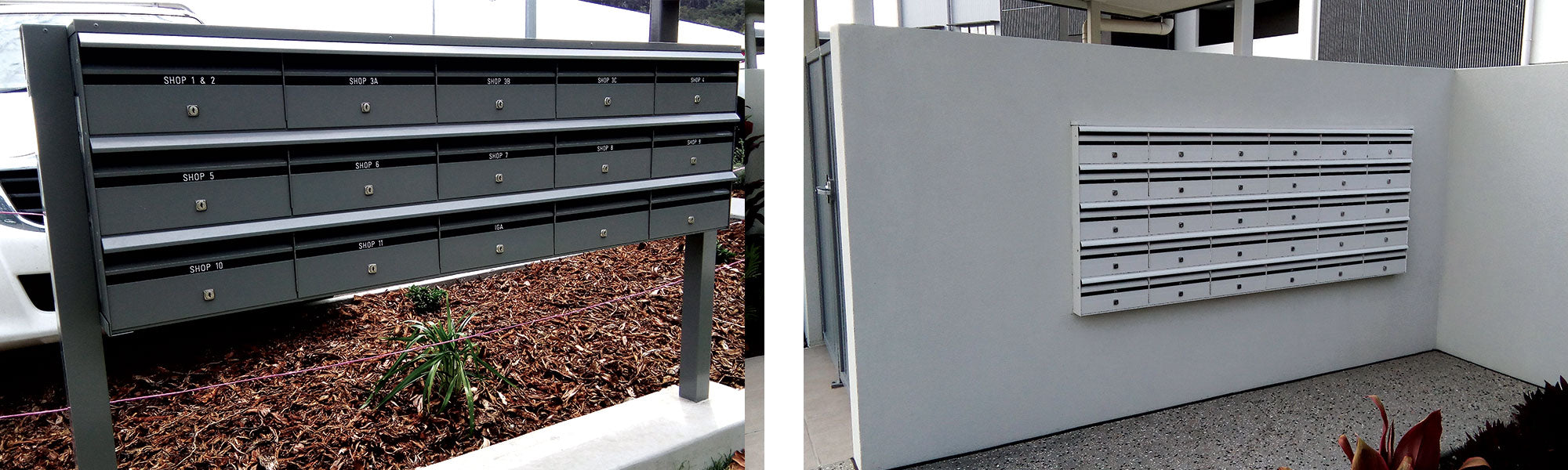 Sunny Coast Products - Commercial Letterbox Examples A