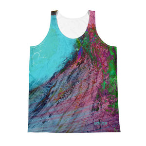 Men's Tank Top - SchuchSport: Surf the Wave by Lidka Schuch