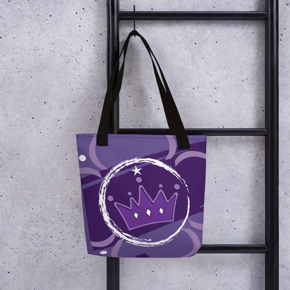 Tote Bag - Chakra Magic: Crown Chakra by Mona Idriss & Lidka Schuch