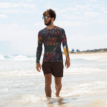 Men's RashGuard - Temptation by Barbara Galinska (BaGa)