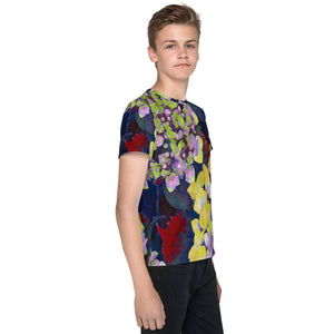 Tween's and Teen's T-shirt - Florals: Yellow Hydrangea by Lidka Schuch