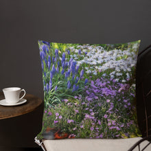 Premium Pillow - Florals: Friends of Grape Hyacinth by Lidka Schuch