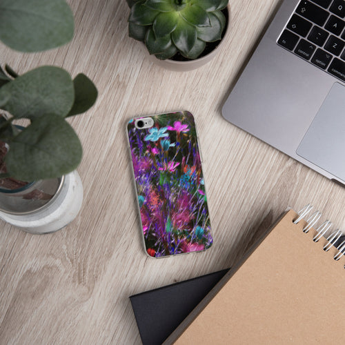 iPhone Case - Florals: Phlox Party by Night by Lidka Schuch