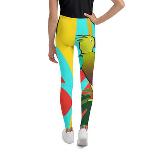 Tween's & Teen's Leggings - Tropical: Drunk On Berries by Lidka Schuch