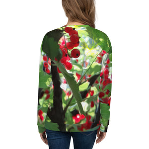 Sweatshirt, Unisex - Florals: Super Fruit - We Be Jamming by Lidka Schuch