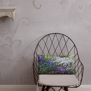 Basic Pillow - Florals: Friends of Grape Hyacinth by Lidka Schuch